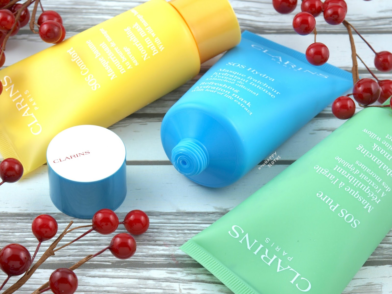Clarins SOS Pure Mask | Clarins SOS Comfort Mask | Clarins SOS Hydra Mask: Review