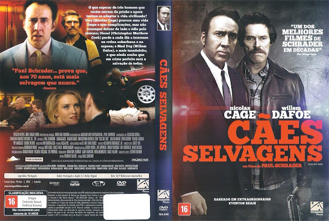 Capa DVD Cães Selvagens (Oficial *)