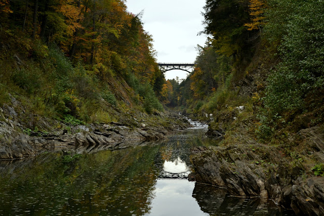 Ущелина Квічі, Вермонт (Quechee Gorge, VT)