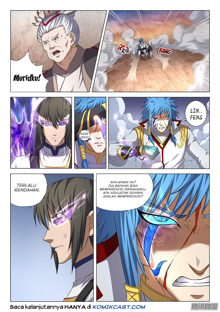 Baca Komik Manga God of Martial Arts Chapter 41.5 Komik Station