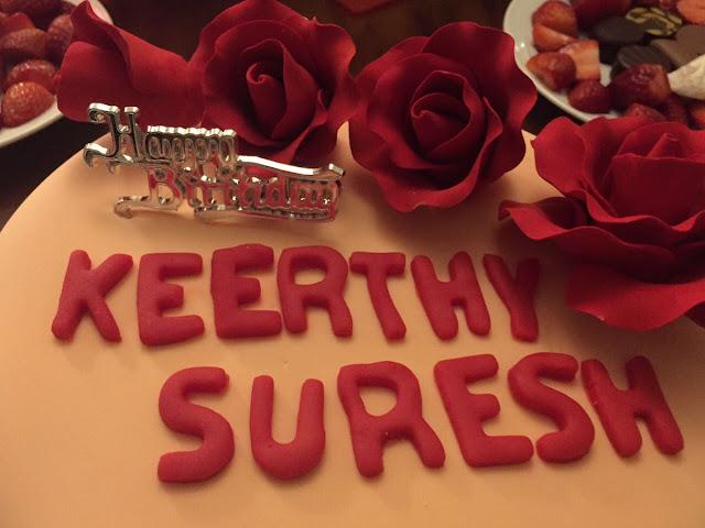 Keerthy Suresh birthday Celebrations 2016 Stills