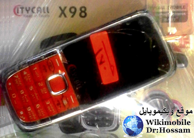 ويكيموبايل اسعار: سيتى كول Citycall X98 الصينى سعر فلاشة