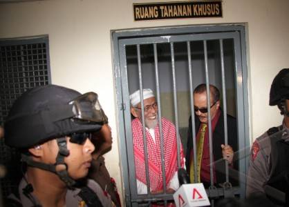 Abu Bakar Ba'asyir Dipindahkan Ke Sel Isolasi Di Nusakambangan