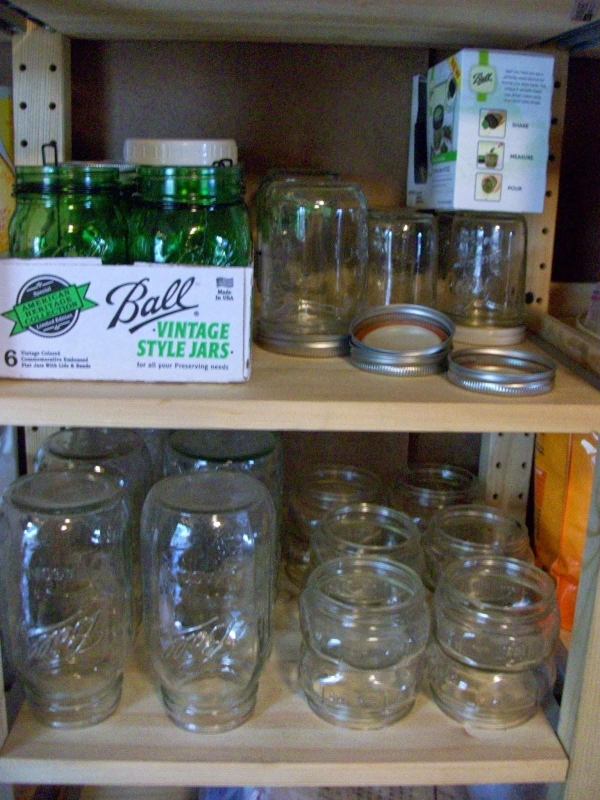 Storing Dehydrated Food In Mason Jars