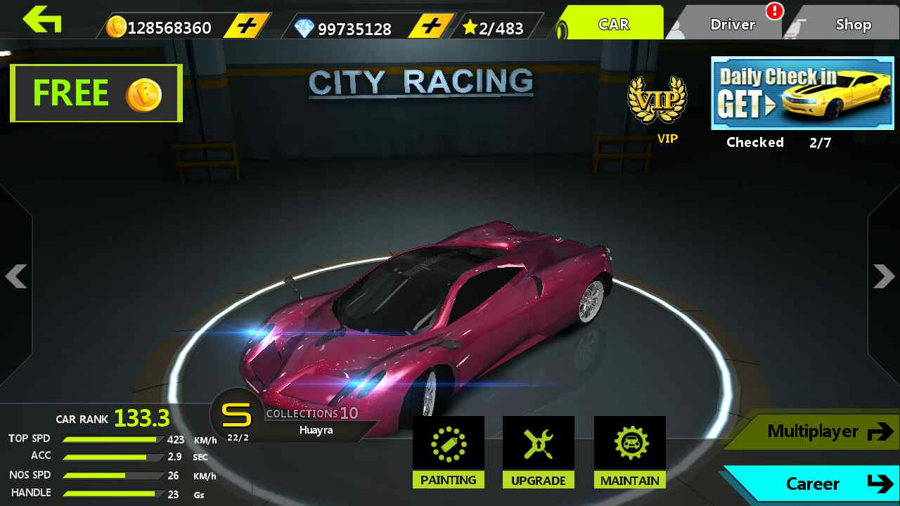 City Racing 3d mod Hacked game unlimited Coins shopping ...