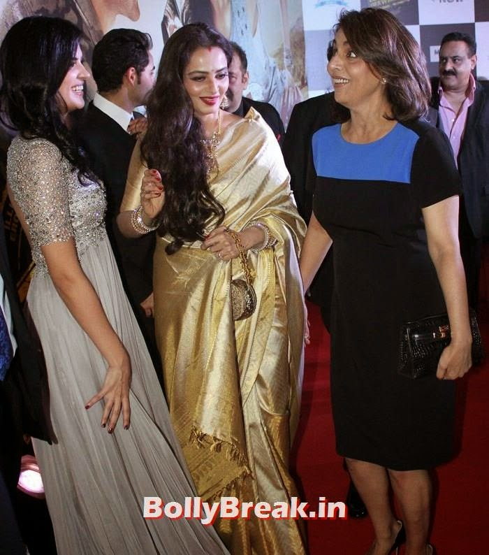 Deeksha Seth, Rekha, Neetu Singh
