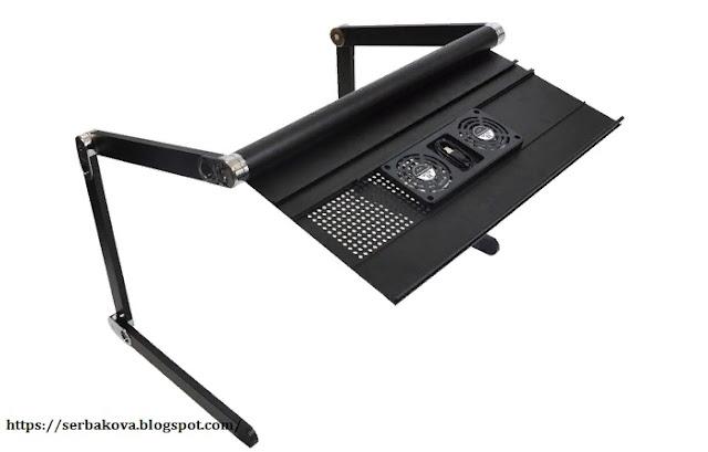 Столик для ноутбука для работы в любом положении оценят больные люди и лентяи