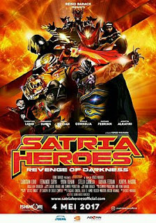 Download Film Satria Heroes: Revenge of Darkness (2017) SDTV Full Movie