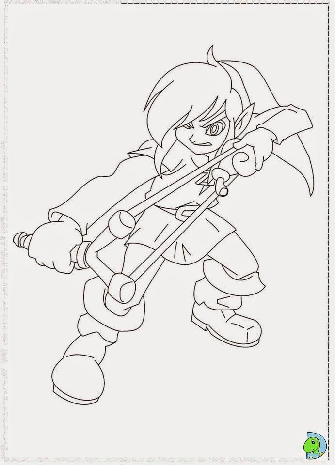 Desenhos De A Lenda De Zelda Para Colorir