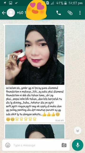 Testimoni Deeja Diamond Foundation