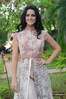 Larissa-Bonesi-Stills-at-Thikka-First-Look-Launch