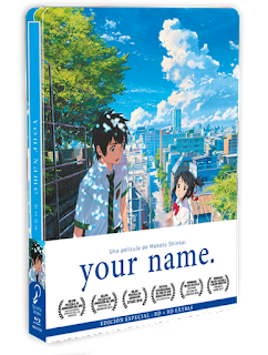 YOUR NAME. STEELBOX BLURAY