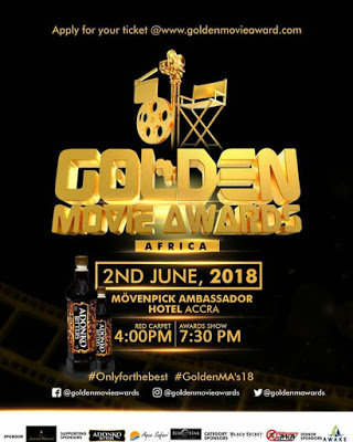 Golden Movie Awards Africa 2018 Slated For June 2