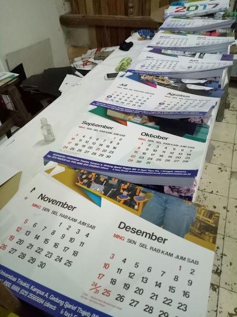 Percetakan Kalender Dinding Murah Jakarta