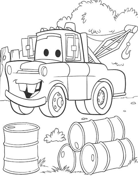 Free Disney Cars Coloring Pages On Cartoons With Disney Cars Coloring  Pages Free