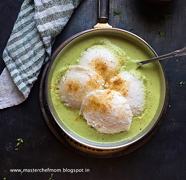 Coconut Chutney | Bangalore Resto Style Coconut Chutney