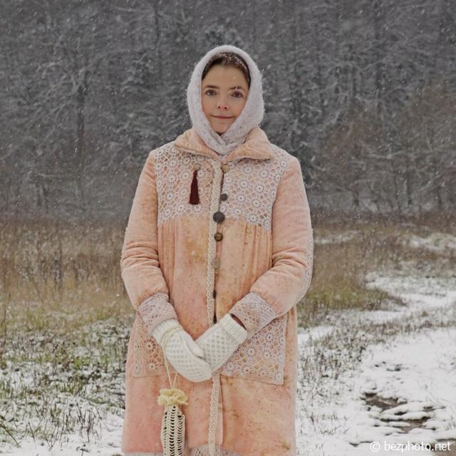 зимний пикник фото