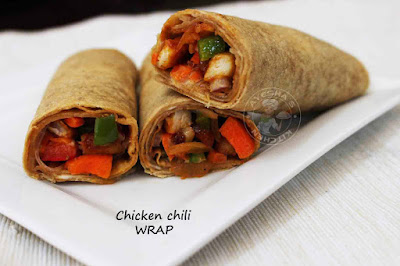 wrap recipe quick dinner recipe chapati wrap kathi roll