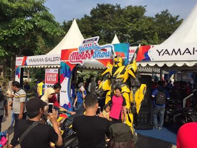 Blue Core Yamaha Motor Show (BYMS) di Sidoarjo tahun 2017