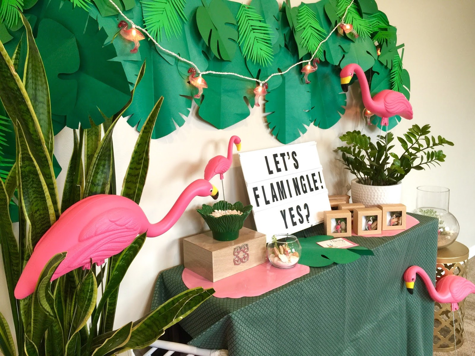 Restlessrisa Flamingo Party For Teens