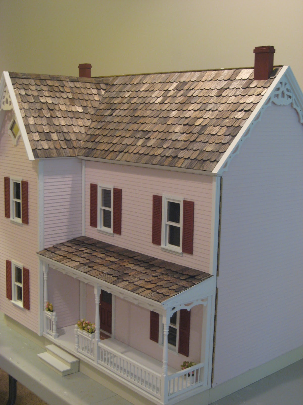 Farmhouse Shutters For Sale Little Darlings Dollhouses Completed Finished And On