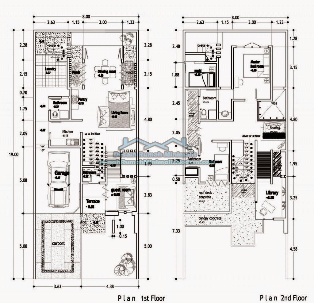 Desain Rumah Minimalis 2 Lantai 9 X 15 Foto Desain Rumah Terbaru