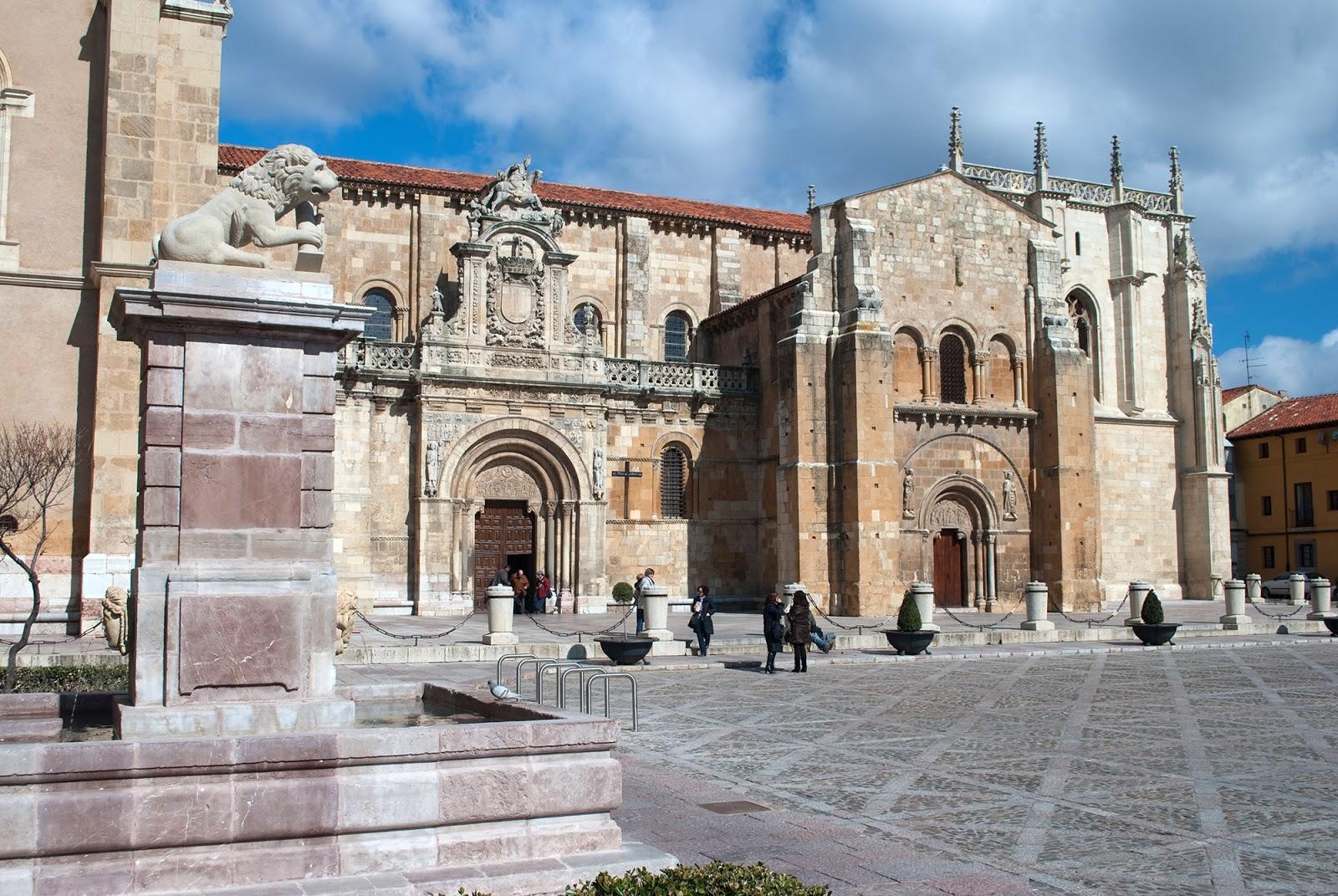 Basilica San Isidoro Leon spain