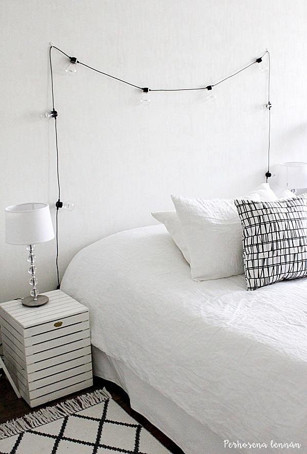 granit valosarja finlasyon coronna koristetyyny pentik pallolampunjalka hm pellavapussilakana skandinaavinen koti mustavalkoinen