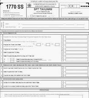 Formulir Spt 1770 Pdf
