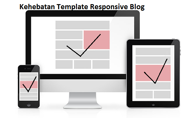 gambar template responsive blog