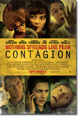 'Contagion': now playing in theaters (TRAILER); 'The Dr. Oz Show' to do special episode on the subject