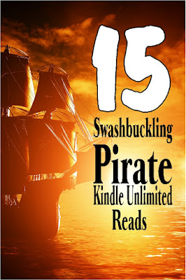Take an adventure with these Pirates and their extreme adventures from finding treasure to finding love.  Here's 15 books that are Kindle Unlimited books free to read and enjoy tonight.