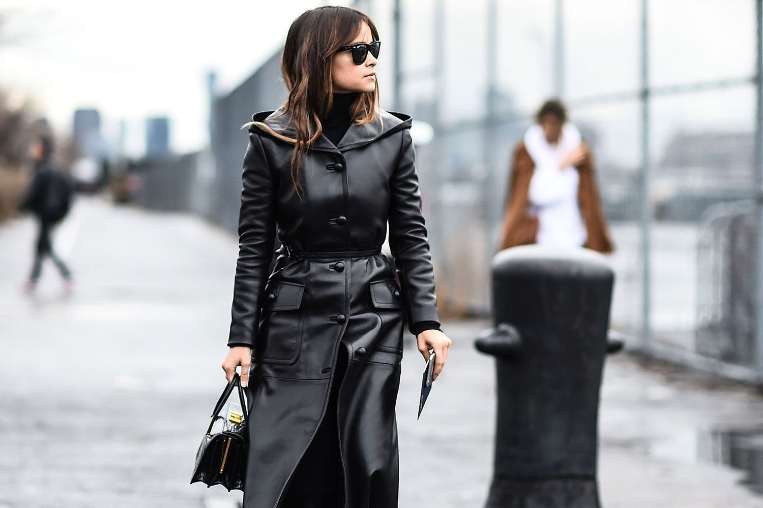 Trend Report | Leather Trench