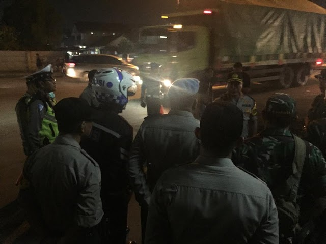 Kapolresta Tangerang Pimpin Pemeriksaan Barang Bawaan