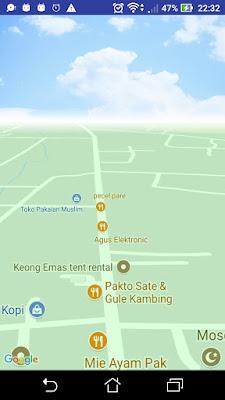 Custom Google Maps Android Ala Pokemon Go