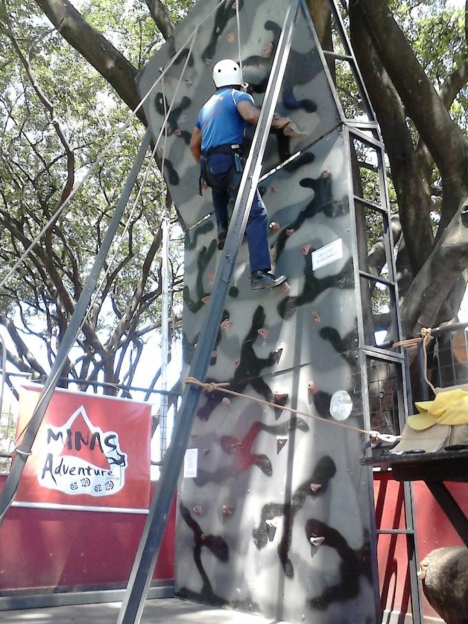 Aluguel de Parede de Escalada Outdoor Minas Adventure