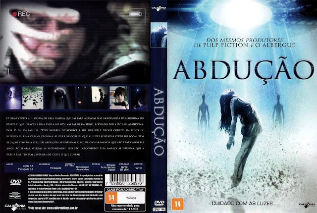 Capa DVD Abdução