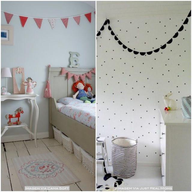 bandeirinhas quarto de criança