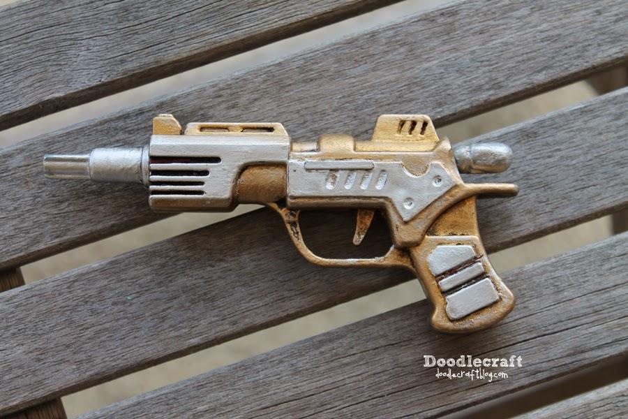 mando preposición Recogiendo hojas  Steampunk Dart Gun with Rub 'n Buff!