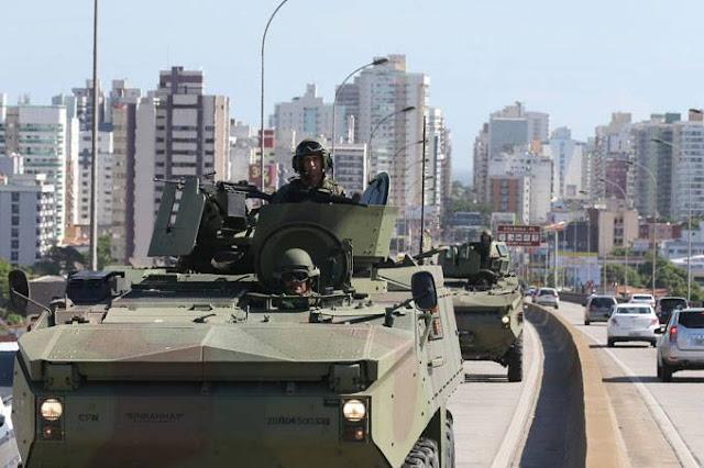 Temer autoriza uso das Forças Armadas para reforçar segurança no Rio de Janeiro