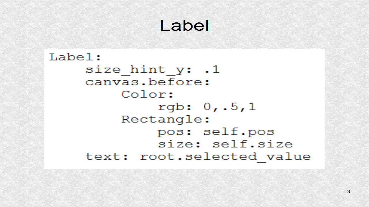 Mobile Programming in Python: 43  ListView