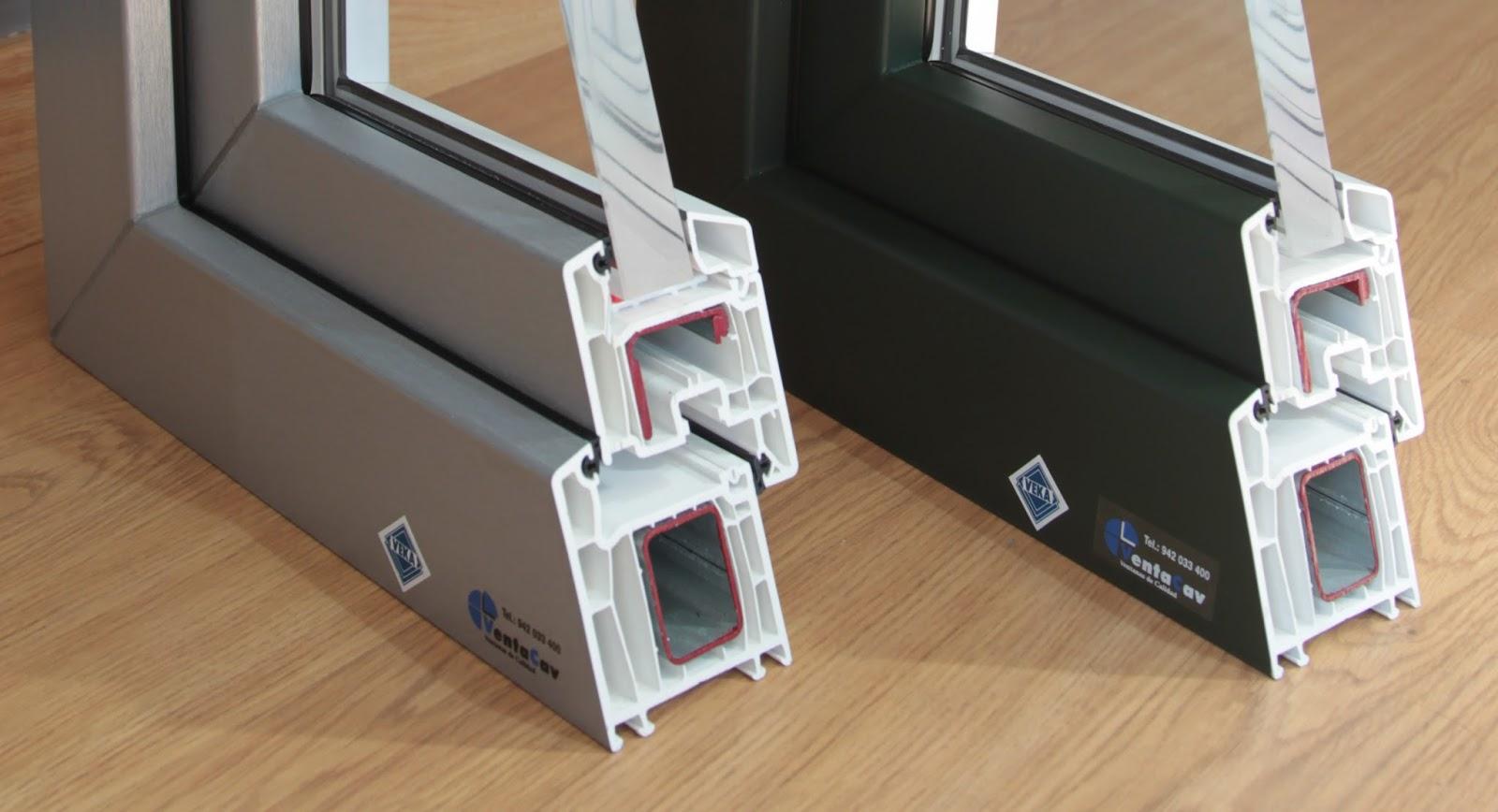 Perfiles de PVC - Ventanas y Puertas de Aluminio y PVC Cantabria ...