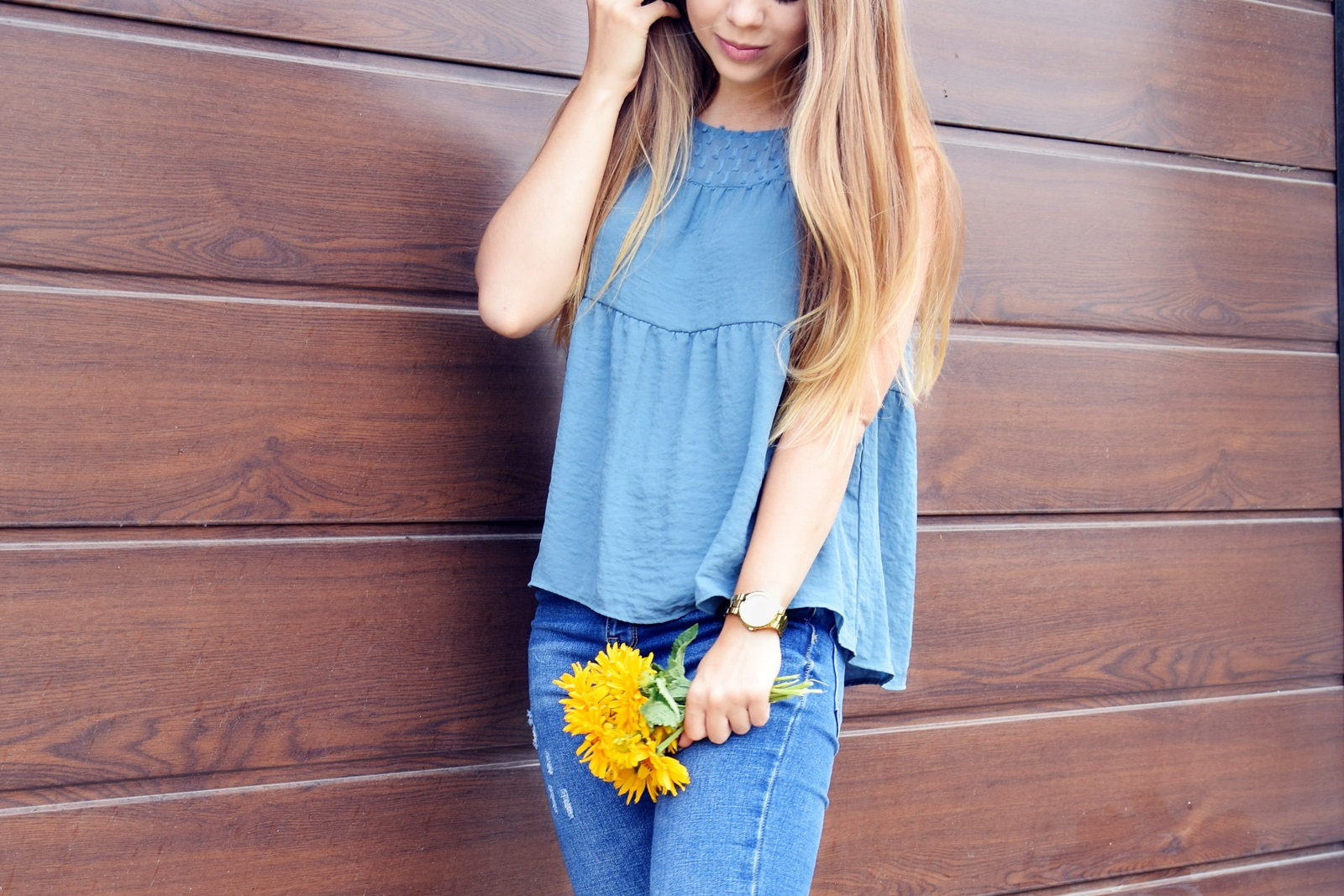 OUTFIT OF THE DAY | BLUE JEANS