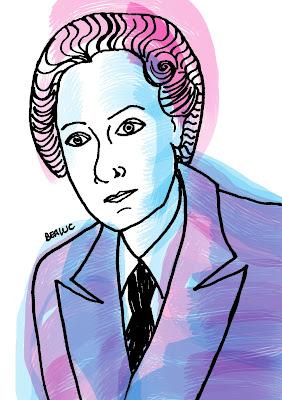 Elena Fortún, ilustración de Bealuc