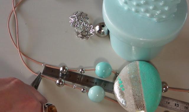 DIY, bijoux, collier, mint, vacances, La Perle des Loisirs