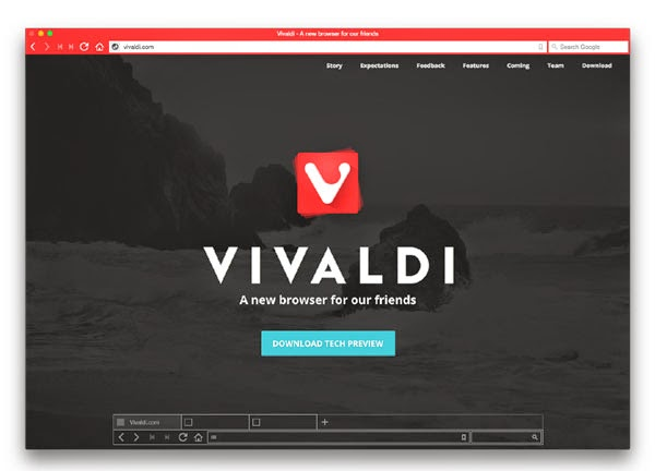 Opera co-founder releases Vivaldi browser for Windows, Mac and Linux