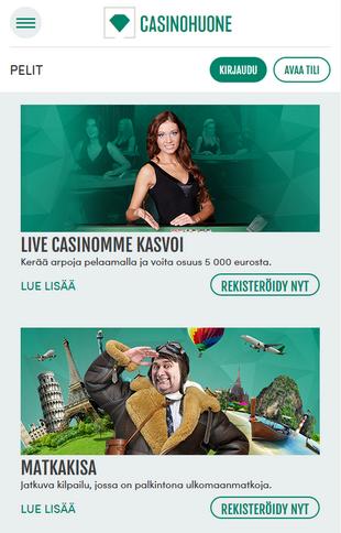 Casinohuone Screen