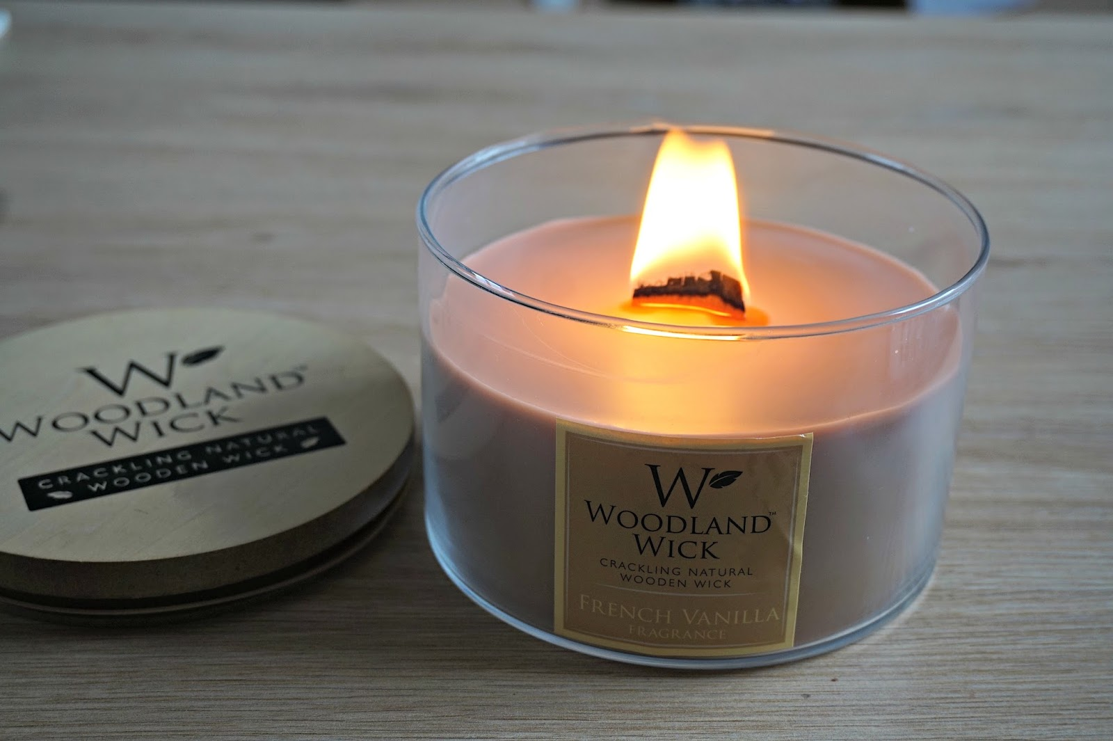 Woodwick Crackle Candle Dupe - Jenna Suth