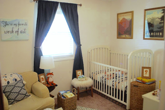 Henrik's Nursery Reveal with Naturepedic!