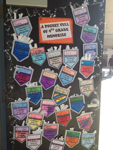 4th Grade End of Year Bulletin Board